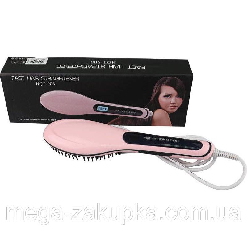 Электрическая расчёска-выпрямитель Fast Hair Straightener HQT-906