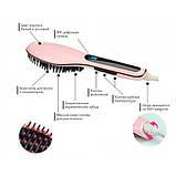 Электрическая расчёска-выпрямитель Fast Hair Straightener HQT-906, фото 3