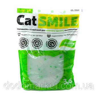 Наполнитель силикагель с ароматом яблока Cat Smile 3,6 л мешок 12 шт