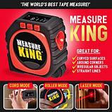 Рулетка Measure King 3 в 1, фото 5