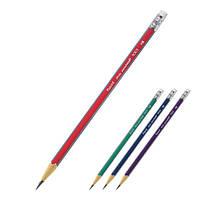 Карандаш графитный Axent 9003-A с ластиком, НВ