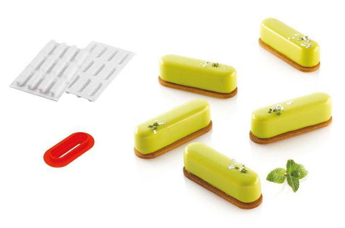 """Форма силиконовая для выпечки десерта """"Каролина"""",  Silikomart Италия"""