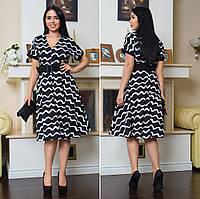 Платье женское батал  Алефтина, фото 1