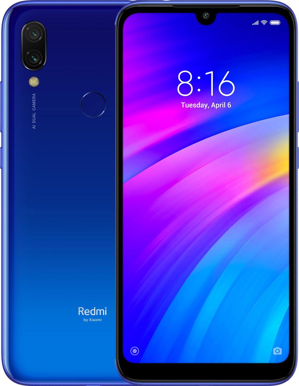 Xiaomi Redmi 7 3/64 | Синий | 4G/LTE | Международная версия | Гарантия