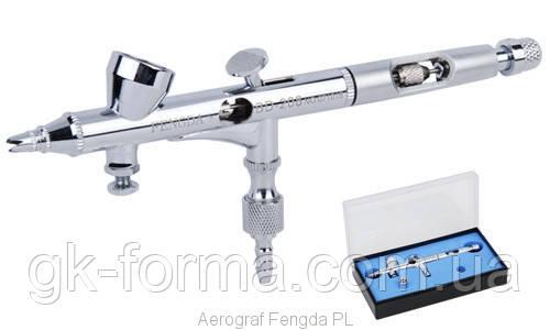 Аэрограф профессиональный Fengda BD-208 с резьбовым соплом 0,25мм