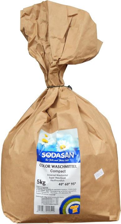 Акція -30% Органический порошок-концентрат Sodasan Compact 5 кг