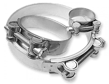 Хомут силовой, одноболтовый, GBS, W1, 74-79/24 мм, GBS 76/24