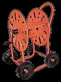 Тележка для поливочного шланга 3/4 90м MAXI CAR – на четырех колесах., AG411