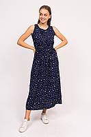Длинное летнее платье LUREX - синий цвет, L (есть размеры), фото 1