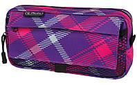 Пенал мягкий Herlitz 11281698 Pockets Check Pink