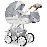 Детская коляска универсальная 2 в 1 Riko Brano Luxe 05 grey fox (Рико Брано, Польша)