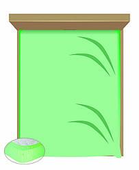 Простынь-резинка под заказ расцветки 180х200 (Макси)+ 2 наволочки