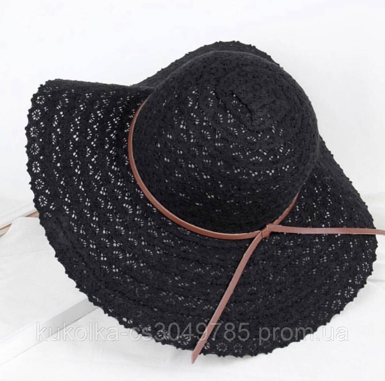 Летняя пляжная шляпа ( гепюр )