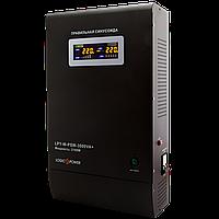 Уцінка ИБП Logicpower LPY-W-PSW-3000VA+(2100Вт)10A/15A з правильною синусоїда 48В, фото 1