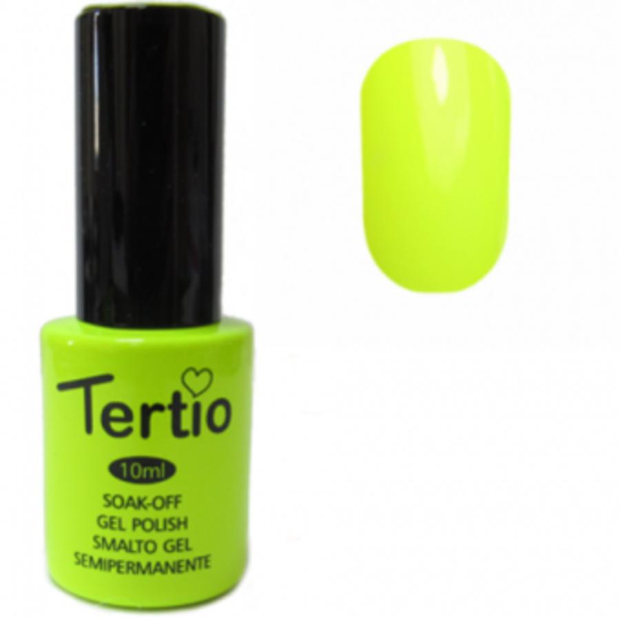 Гель-лак Tertio № 127 (неоново-желтый)