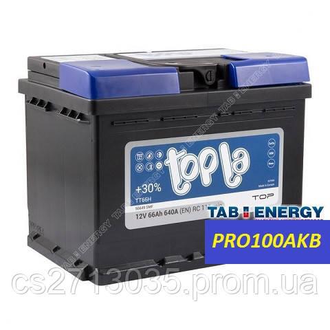 Автомобильный аккумулятор Topla top 66 Ач 640 А (0) R+