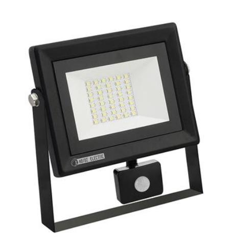 Светодиодный прожектор с датчиком движения Horoz Pars/s 30W