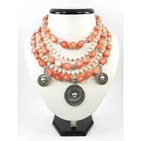 """Эксклюзивное ожерелье """"Хрупкая"""", Изысканное ожерелье из натурального камня, красивое ожерелье"""