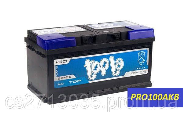 Автомобильный аккумулятор Topla top 100 Ач 900 А (0) R+