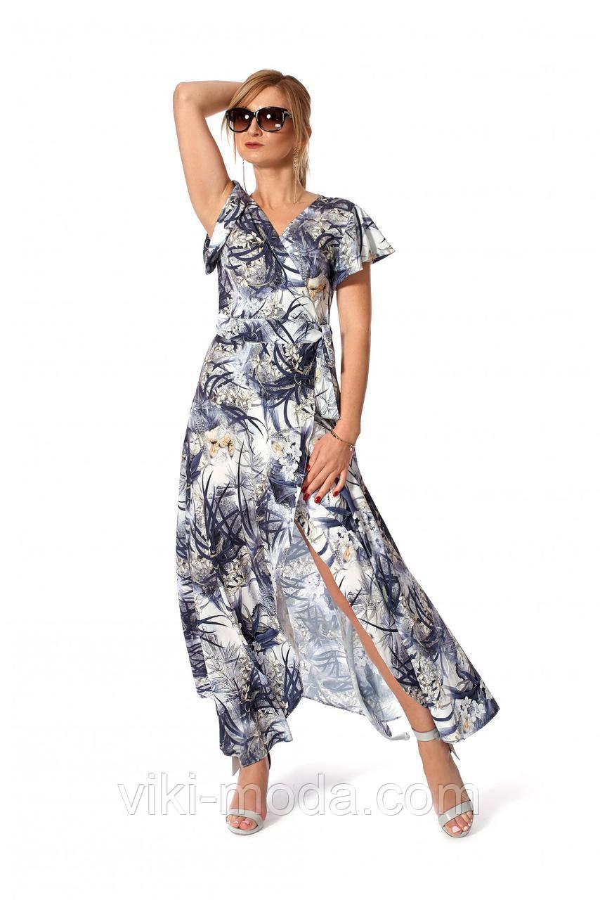 Красивое длинное платье романтического стиля