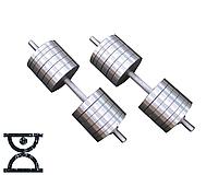 Две гантели стальные по 54 кг