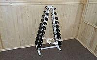 Гантельный ряд 1-10 кг со стойкой
