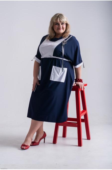 Платье Рокси синий