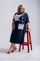 Платье Рокси синий, фото 1