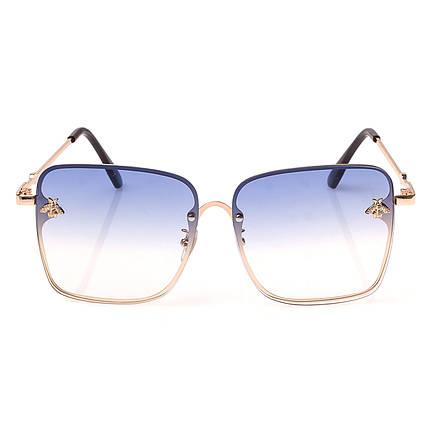 Солнцезащитные очки  Женские цвет Разноцветный      оправа-сплав металлов, линза-поликарбонат ( 1843 С4 ), фото 2