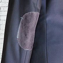 """Шкільний синій костюм для хлопчика 122-176 зросту """"Монако"""" з налокотниками, фото 3"""