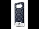 Оригинальный кожаный чехол Mercedes для Samsung Galaxy S8, Blue (B66958604), фото 2