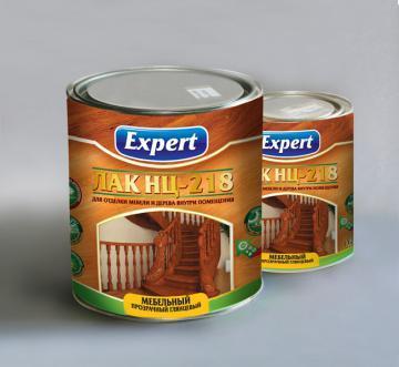 Лак НЦ-218 2,2 кг, Ехpert, ЗАПХ