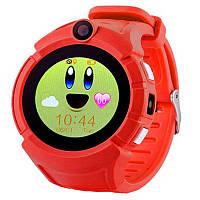 Детские смарт часы с GPS трекером  UWatch Q610 Kid wifi gps smart watch Red Акция -16%!