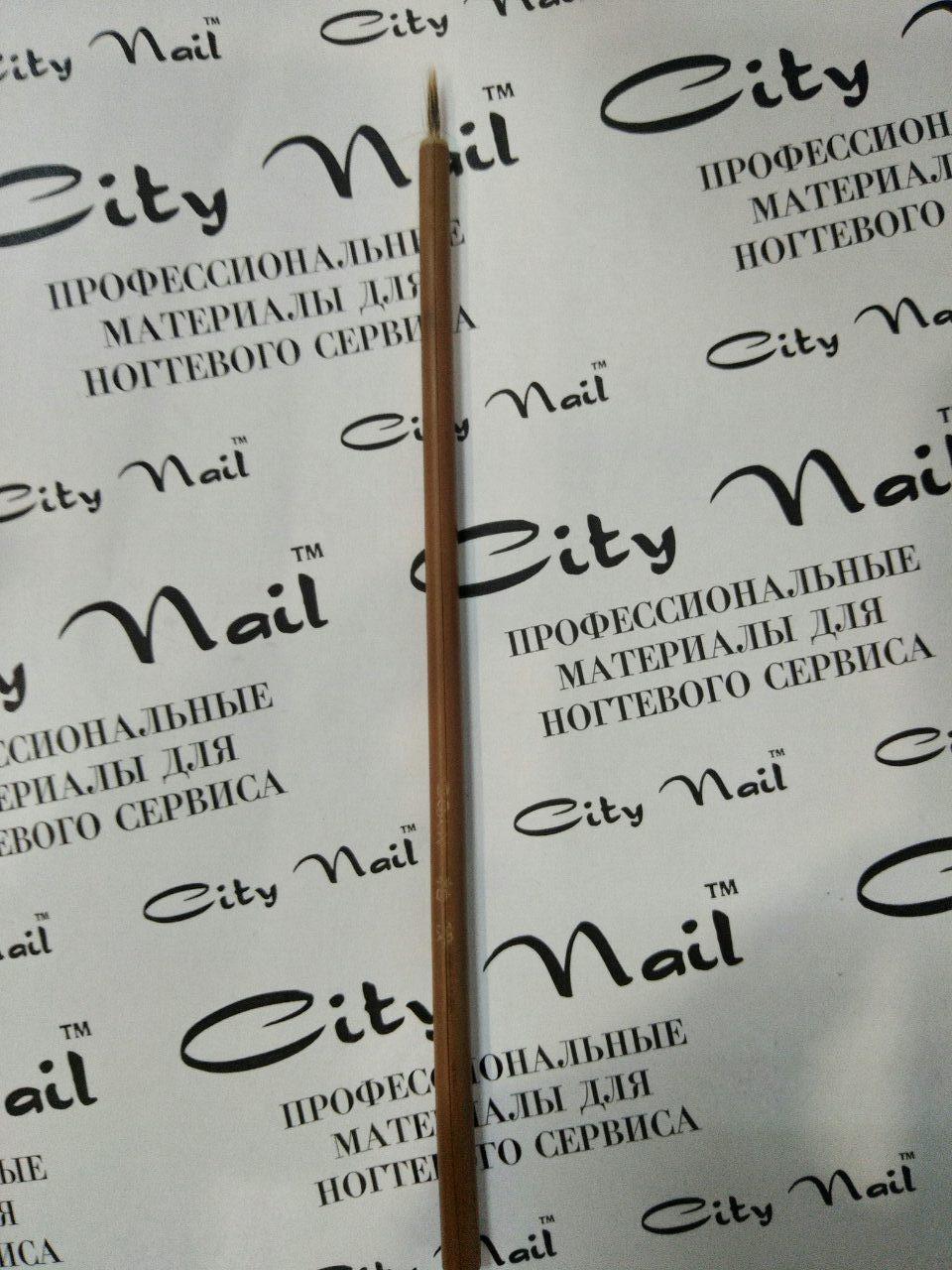 Живая бамбуковая кисть для ногтей