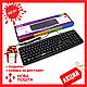 USB проводная компьютерная клавиатура CBR KB 107 | черная клавиатура для ПК, фото 8