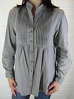 Рубашка женская D 8008 серая