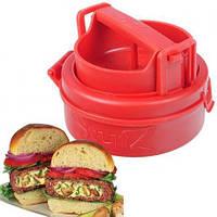 Ручной одинарный пресс для приготовления котлет, гамбургеров Stufz Sliders, фото 1
