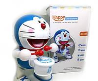 Интерактивная танцующая игрушка с барабаном Dancing Happy Doraemon | барабанщик Дораэмон, фото 1