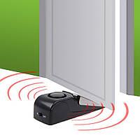 """Дверная сигнализация """"Door Stop Alarm"""" с датчиком вибрации и звуком сигнализации 120 дБ"""
