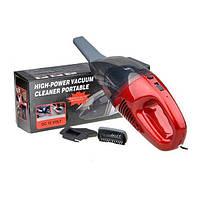Автомобильный пылесос High-power Portable Vacuum Cleaner собирает воду   автопылесос, фото 1