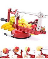 Яблокочистка Core Slice Peel | яблокорезка Спайз Пил | прибор для чистки и нарезки яблок, фото 1