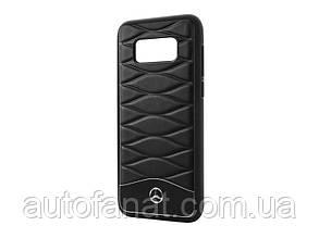 Оригинальный кожаный чехол Mercedes для Samsung Galaxy S8, Black (B66958603)