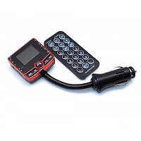 FM модулятор автомобильный 520 USB SD micro SD от прикуривателя | ФМ модулятор трансмиттер