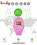 Детские часы с GPS-трекером G65 Розовые | смарт часы | умные часы, фото 6