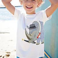 Футболка для мальчика Носорог Jumping Meters