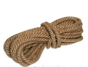 Веревка джутовая крученая 8мм 50м JUTA RD Бангладеш