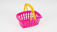 Детская корзина с ручками ТехноК для игрушек или игры супермаркет