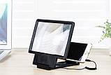 3D збільшувач екрана телефону Enlarge screen F1   універсальне збільшувальне скло, фото 8