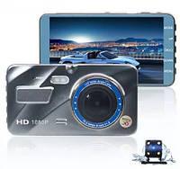Автомобильный видеорегистратор DVR V2 2 камеры | авторегистратор | регистратор авто