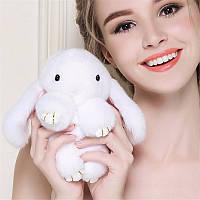 Брелок кролик – модные разноцветные аксессуары в виде зайца и кролика из натурального меха